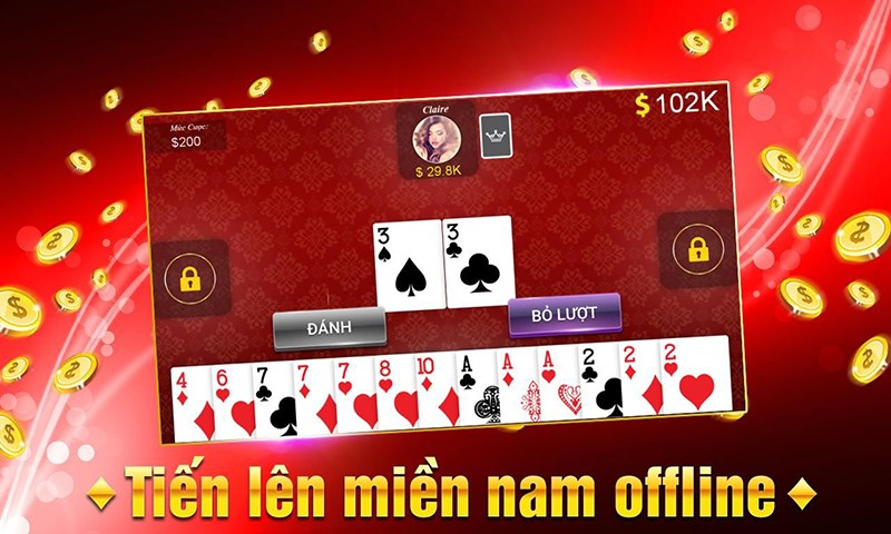 game danh bai an tien that tien len mien nam